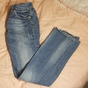 Miss Me Jean's country western boot cut jeans